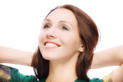 Portrait of beautiful young woman Royalty Free Stock Photography