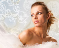 Portrait beautiful young woman Royalty Free Stock Photos