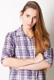 Portrait of a beautiful young woman Stock Image