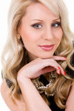 Portrait beautiful young woman Royalty Free Stock Photo