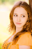 Portrait of beautiful young woman Stock Image