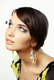 Portrait a beautiful young woman Royalty Free Stock Images