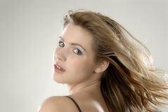 Portrait of a beautiful young woman. Studio photo of a gorgeous girl Royalty Free Stock Photos