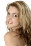 Portrait of a beautiful young woman. Studio photo of a gorgeous girl Stock Photo