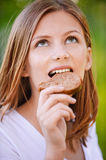Portrait of beautiful young woman Royalty Free Stock Image