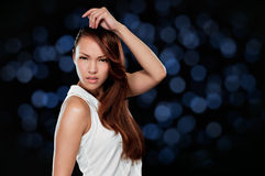 Portrait of beautiful young woman Royalty Free Stock Photo