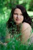 Portrait beautiful young woman Stock Photo