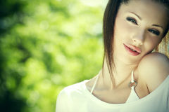 Portrait beautiful young woman Royalty Free Stock Photography