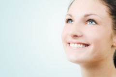 Portrait of beautiful young woman. Royalty Free Stock Images