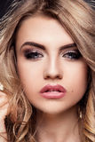 Portrait of beautiful young woman. Royalty Free Stock Image