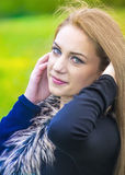 Portrait of a beautiful young woman Royalty Free Stock Image