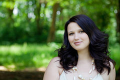 Portrait beautiful young woman Royalty Free Stock Images