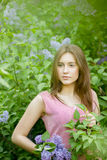Portrait of a beautiful young woman Royalty Free Stock Photo