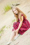 Portrait of a beautiful young woman Royalty Free Stock Photos
