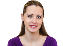 Portrait of the beautiful young woman Royalty Free Stock Image