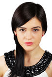 Serious elegant woman Stock Images