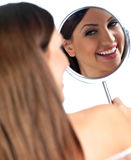 Portrait of beauty Stock Images