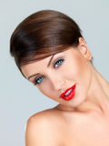 Portrait of beauty Royalty Free Stock Images