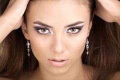 Portrait of the beauty Stock Images