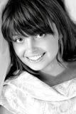 Portrait of beauty brunette Royalty Free Stock Image
