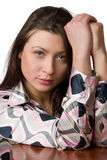 Portrait of beauty girl. Royalty Free Stock Photo