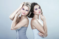 Portrait of beauty young women royalty free stock photo
