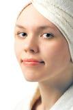 Portrait beauty spa girl Royalty Free Stock Photos