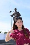 Portrait beauty Thai girl Royalty Free Stock Image