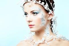 Portrait of beauty winter women Royalty Free Stock Photos
