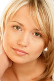 Portrait of beauty woman Stock Images