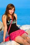 Portrait beauty young girl Stock Image