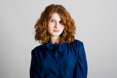 Portrait of beauty young woman Royalty Free Stock Photos