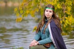 Portrait of beautyful girl Royalty Free Stock Photos