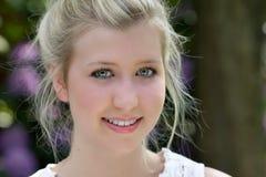 Portrait of a beautyful teenager. Close-up portrait of a beautiful teenager Royalty Free Stock Images