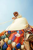 Portrait of a bedouin royalty free stock images
