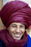 Bedouin man, Morocco. royalty free stock photo
