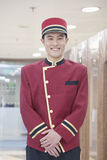 Portrait of Bellhop Royalty Free Stock Photo