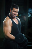 Portrait of big muscular man Stock Photography