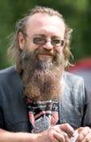 Portrait of biker royalty free stock images