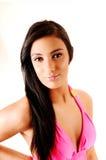 Portrait of bikini girl. Stock Image