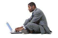 Portrait of black businessman Stock Image