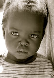 Portrait of black girl. Close up portrait of a cute young black girl,Portrait of pretty girl, Black and White photo of black girl Stock Images