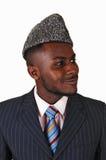 Portrait of black man. stock photos