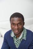Portrait of black man stock images