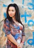 Portrait of a black woman Royalty Free Stock Photos
