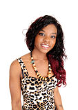 Portrait of black woman. Stock Image