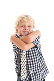 Portrait of blond boy Stock Image