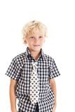 Portrait of blond boy Stock Photo