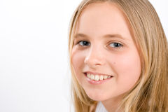 Portrait of blond girl Royalty Free Stock Photos