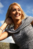 Portrait of a Blond Woman Royalty Free Stock Photography